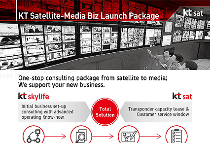 KT Satellite-Media Biz Launch Package